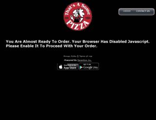 thatsasome.hungerrush.com screenshot