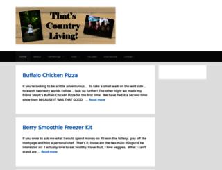 thatscountryliving.com screenshot
