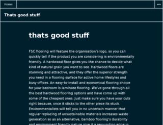 thatsgoodstuff.info screenshot