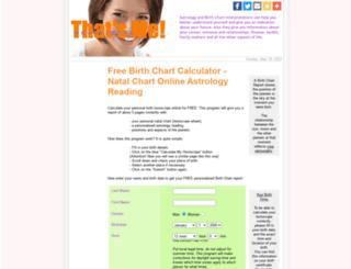 thatsme-horoscopes.com screenshot