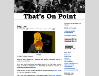 thatsonpoint.blogspot.com screenshot