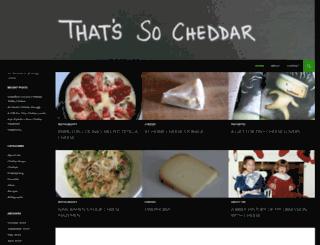 thatssocheddar.com screenshot