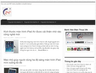 thaymanhinhipadair.com.vn screenshot