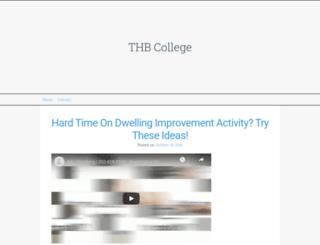 thbcollege.org screenshot