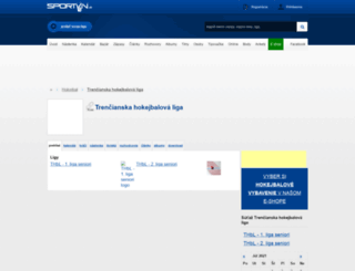 thbl.sportvin.sk screenshot