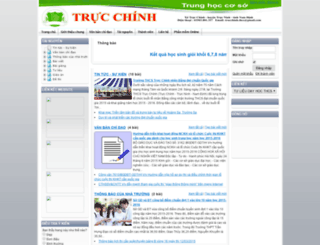 thcs-trucchinh-namdinh.violet.vn screenshot