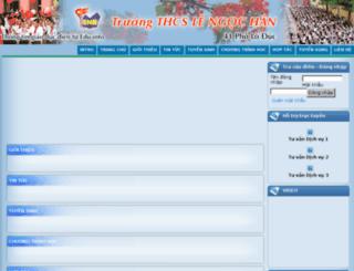 thcslengochan.solienlac.info.vn screenshot
