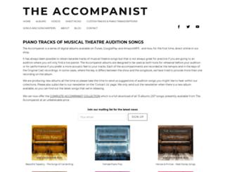 the-accompanist.com screenshot