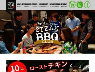 the-amigos.com screenshot