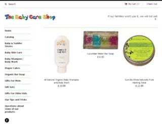 the-baby-care-shop.myshopify.com screenshot