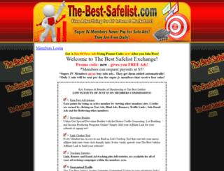 the-best-safelist.com screenshot