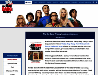 the-big-bang-theory.com screenshot