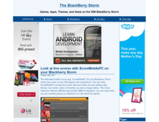 the-blackberry-storm.net screenshot