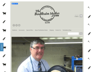 the-bodhran-maker.myshopify.com screenshot