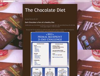 the-chocolate-diet.blogspot.com screenshot