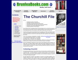 the-churchill-file.co.uk screenshot