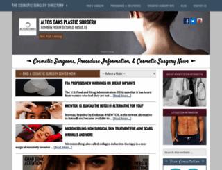 the-cosmetic-surgery-directory.com screenshot