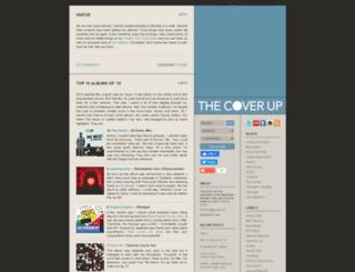 the-cover-up.com screenshot