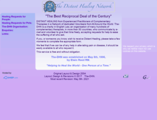 the-dhn.org screenshot