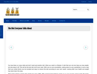 the-diet.co.za screenshot