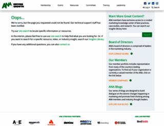 the-dma.org screenshot