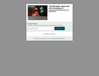 the-dollar-wallet.backerkit.com screenshot