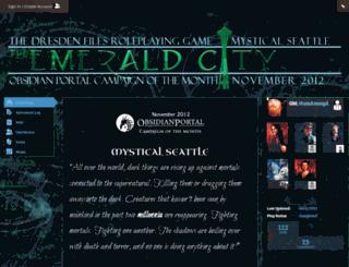 the-emerald-city.obsidianportal.com screenshot