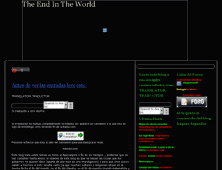 the-end-in-the-world-v2.blogspot.com screenshot