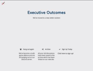 the-executives.de screenshot