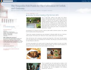 the-fish-farm.blogspot.com screenshot