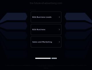 the-future-of-advertising.com screenshot