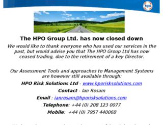 the-hpo.com screenshot