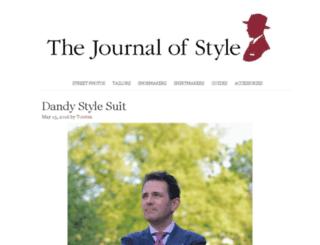 the-journal-of-style.com screenshot