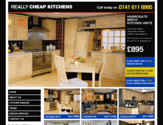 the-kitchenfactory.co.uk screenshot