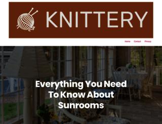 the-knittery.com screenshot