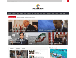 the-levant.com screenshot