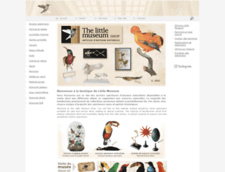 the-little-museum-shop.com screenshot