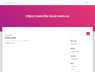 the-local-news.us screenshot