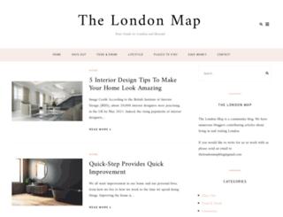 the-london-map.co.uk screenshot