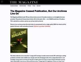the-magazine.org screenshot