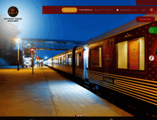 the-maharajas.com screenshot