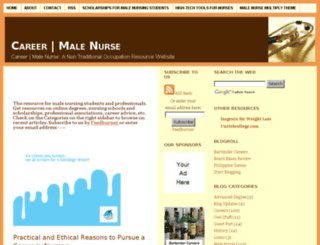 the-male-nurse.com screenshot