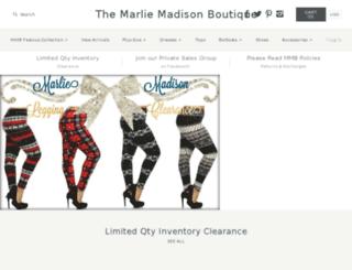 the-marlie-madison-boutique.myshopify.com screenshot