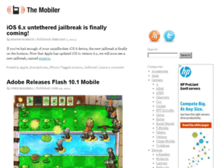 the-mobiler.com screenshot