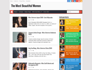 the-mostbeautifulwomen.blogspot.com screenshot
