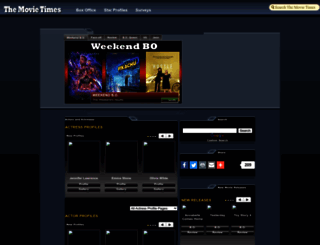 the-movie-times.com screenshot