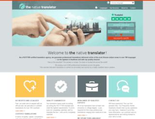 the-native-translator.com screenshot