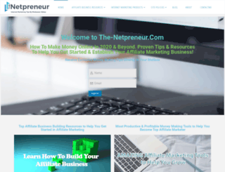 the-netpreneur.com screenshot