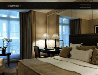 the-paris-hotel.com screenshot