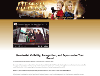the-personal-paparazzi.com screenshot